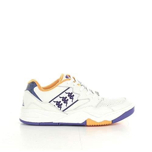 Kappa Zapato de Hombre Mod. 3031l40White, Color Violeta, Amarillo, 46