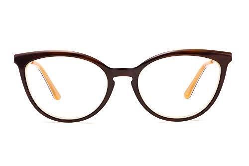 MEDOLONG ANB4131 - anteojos de computadora antiluz para impresora 3D, marco de acetato para mujer,...