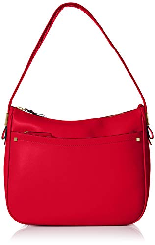 Cole Haan Tali Leather Hobo, barbados cherry