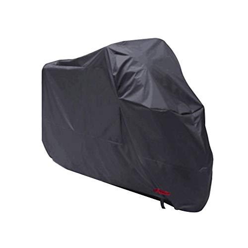 Toruiwa Housse de Protection pour Moto Imperméable Anti-Pluie Anti-poussière Anti-Vent Bâche de Moto, Scooter 295 * 110 * 140cm