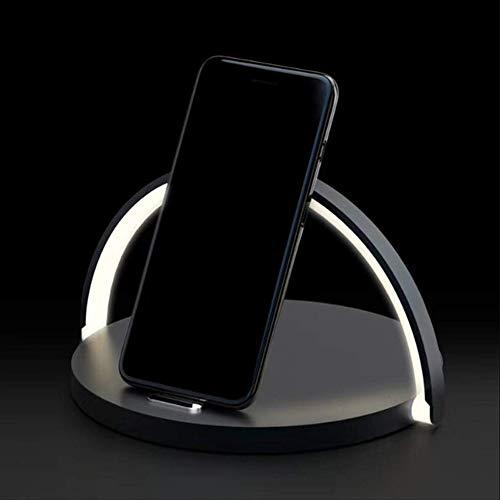 CNMF LED Smart tafellamp met Qi draadloze bureaulamp voor LED Home Decor mobiele telefoon oplader voor iPhone 10W snellader voor Samsung S9 S8 Huawei P30 Pro