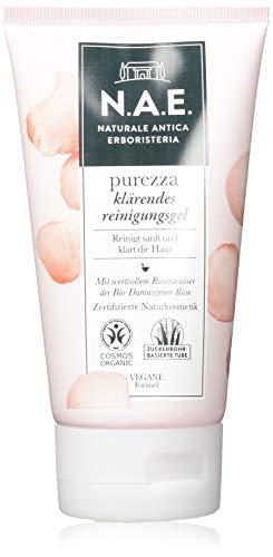 N.A.E. Naturale Antica Erboristeria purezza klärendes Reinigungsgel, COSMOS Organic zertifiziert & vegane Formel, 1er Pack (1 x 150 ml)