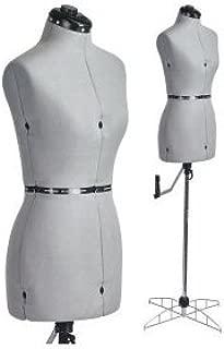 Adjustable Mannequin Dress Form For Sewer and Apparel Designer - size small