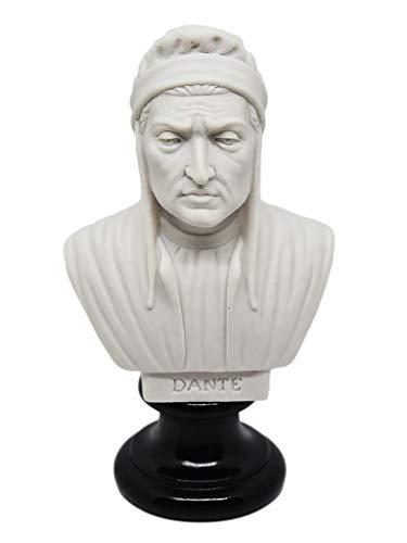 Busto de personajes famosos – Reproducción en aglomerado de mármol y resina. Pintada y estucada artesanalmente. Altura 15 cm. Peso aproximado 350 g.