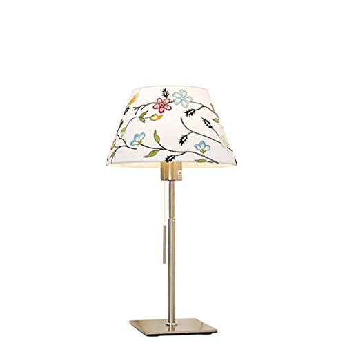 XILIN-1987 Lámparas de Escritorio Dormitorio Moderno lámpara de cabecera Simple Estilo Europeo Interruptor de la Sala de Estar lámpara de Estudio Lámpara de Mesa para niños (Size : S)