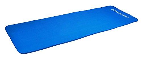 D&S Vertriebs GmbH Yogamatte Pilates Gymnastikmatte 190 x 60 x 1,5 cm in blau