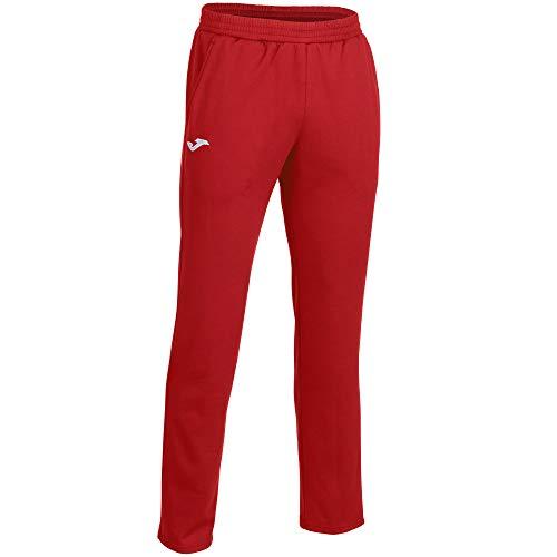 Joma Cleo II Pantalon Largo Deportivo, Hombres, Rojo, M