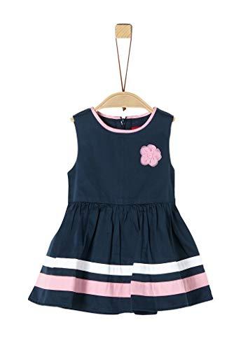 s.Oliver Junior 405.10.004.20.200.2020457 Kinderkleid, Baby - Mädchen, Blau 74 EU