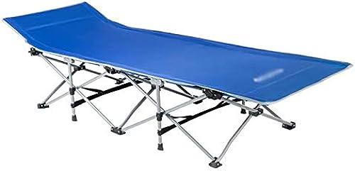 GL-Bed Lit de Camping Pliant lit de Soleil lit bébé Portable 600D Tissu Forte capacité Stable à 121 kg pour Le Camping
