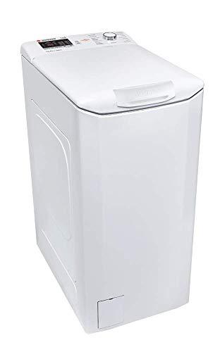 Hoover HLT 372D-37 - Lavadora carga superior 7Kgs, 15 programas, 1200rpm, NFC, display táctil, 61dBA, clase A+++AB, color blanco