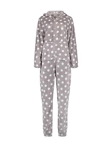 Hailys Star Frauen Overall grau S 100% Polyester Casual Wear, Streetwear