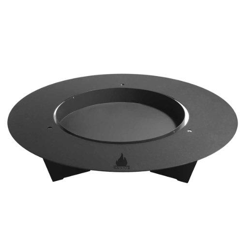 Radius Fireplate Feuerstelle Ø100cm, schwarz pulverbeschichtet