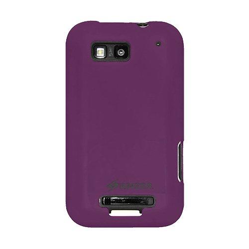 Amzer AMZ89386 Silicone Skin Jelly Case for Motorola DEFY MB525 and Motorola DEFY Plus (Purple)