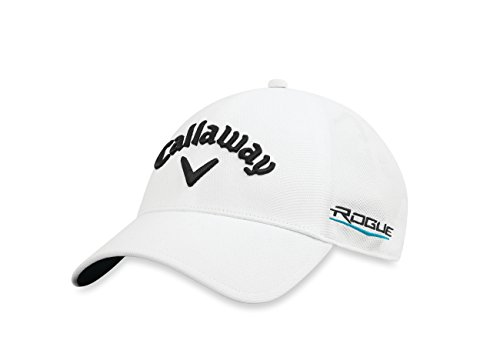 Callaway Golf 2018 Tour Authentic Fitted Hat, White, Large/ X-Large
