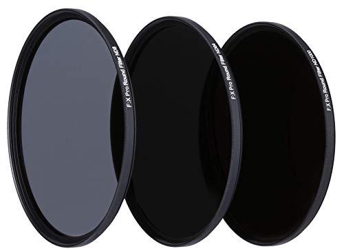 Rollei F:X Pro ND Filterset (ND 8, ND 64, ND1000) Neutraldichtefilter Set mit 3 Graufiltern (52mm)