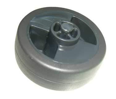 Staubsauger-Rolle, Durchmesser 37 mm, für Staubsauger-Teile.