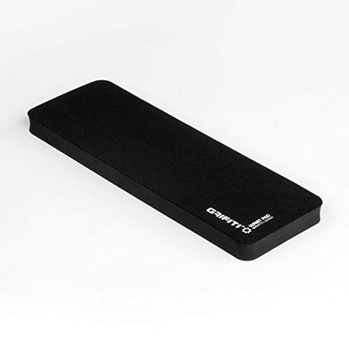 Grifiti Fat Wrist Pad 12 Inch Wrist Rest for .75 Inch Thick Small Mechanical Keyboards, MacBooks, Laptops, and Notebooks (Wide 12 x 4 x .75)
