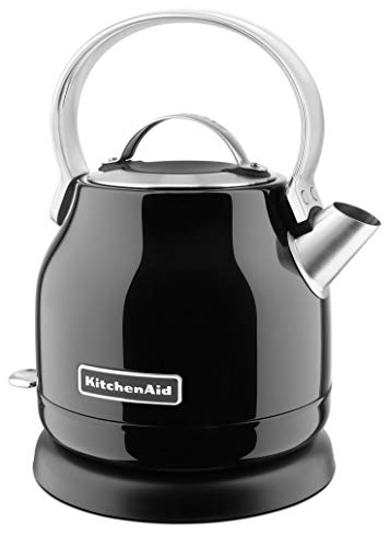 KitchenAid Classic 5KEK1222 Bollitore Elettrico, 1.25 L, Nero