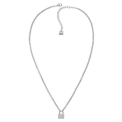 DKNY Donna - Collar de Karan (tamaño pequeño, cristal de Swarovski)