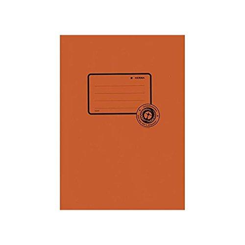 HERMA Heftschoner, aus Papier, DIN A5, orange 4008705055048