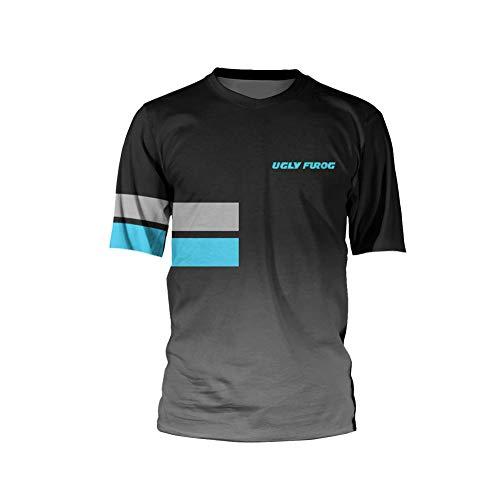 Uglyfrog Element Racewear MX Motocross Sportbekleidung Radtrikots Kurzarm/Langarm Fahrradbekleidung Fahrrad top Männer MTB Downhill Jersey Atmungsaktive Sommer