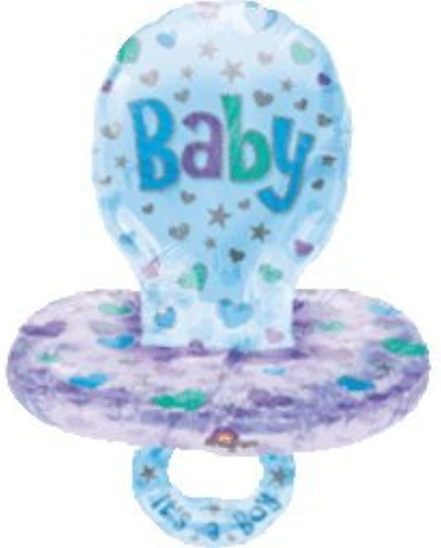Amscan International Boy Baby Pacifier (MultiColoured)