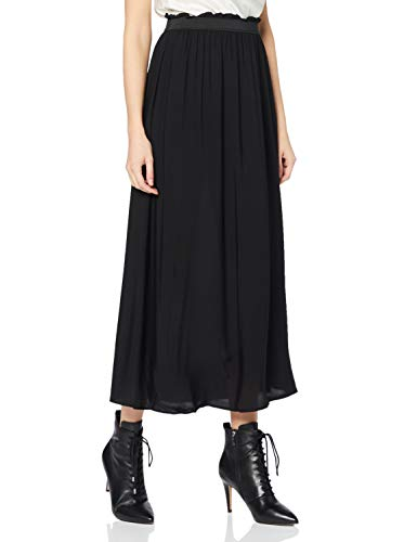 Vero Moda VMBEAUTY Ankle Skirt NFS Noos Gonna, Nero, XS Donna