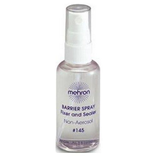 (6 Pack) mehron Barrier Spray Fixer and Sealer Clear