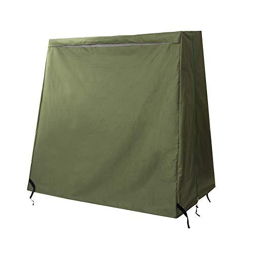 Cubierta de Mesa de Ping-Pong, Cubierta de Tenis de Mesa Impermeable para Evitar daños Se Adapta a la mayoría de Las mesas HZC307 (Ejercito Verde)