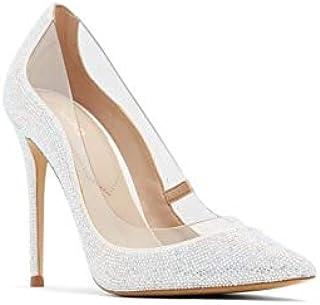 Aldo Heels Dress Shoe for Women, Size 8 US, Silver