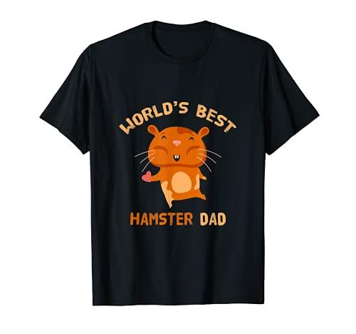 El mejor hámster del mundo para el día del padre Camiseta