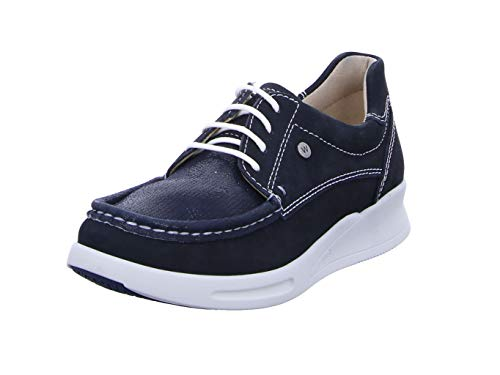 Wolky Comfort Sneakers One - 10870 blau-sommerliches Stretch Nubuk - 41