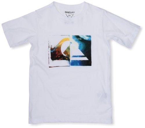 Quiksilver - Camiseta para niño, tamaño 12 años, Color Blanco