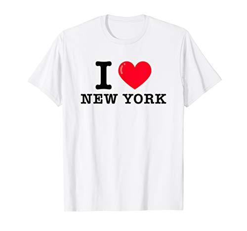 I Heart New York Classic Typewriter T-Shirt