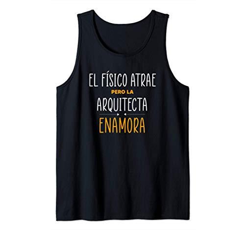 Regalos para Arquitectas - PERO LA ARQUITECTA Enamora Camiseta sin Mangas