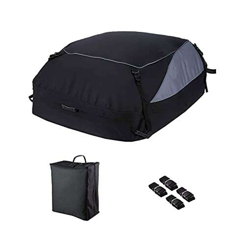 Xiaoyaoyou Car Roof Bag, 600D Waterproof Outdoor Cargo Boxe, Foldable Car Luggage Bag, Large Storage...