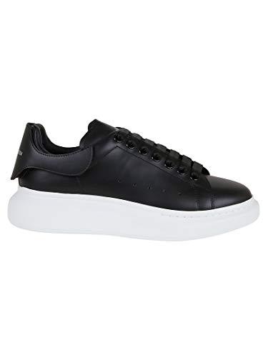 Alexander McQueen Luxury Fashion Herren 625161WHYB91357 Schwarz Leder Sneakers | Herbst Winter 20