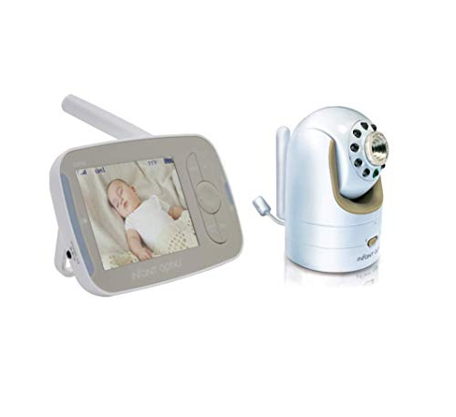 Infant Optics Accessories Optics DXR-8 v1.3 Full Kit Baby Monitor, Round-pin Charging Port Version, White