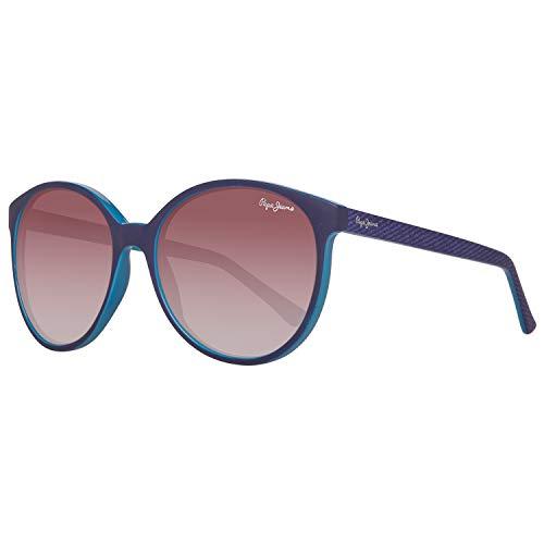 Pepe Jeans PJ7297C356 Sonnenbrille PJ7297 C3 Minda Schmetterling Sonnenbrille 56, Blau