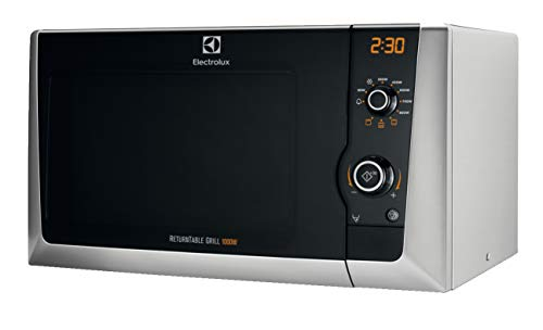 Electrolux EMS21400S - Horno de microondas con instalación independiente, 800 W, 21,23 litros, plateado