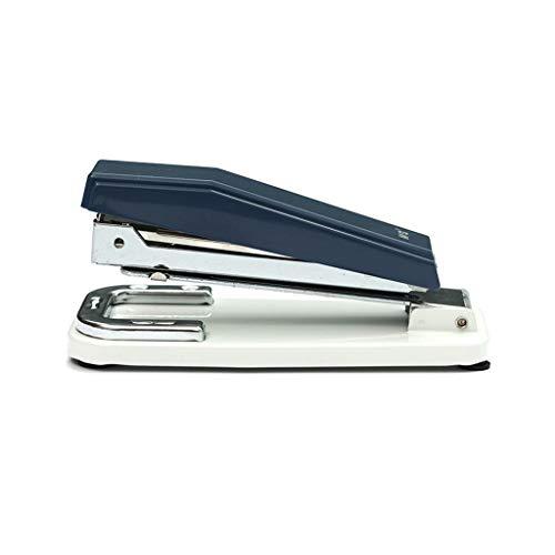 Grapadoras para Escritorio Giratoria de la grapadora,Durable de escritorio de la grapadora,de 25 páginas Capacidad de múltiples funciones de la grapadora,Dark Blue (regalo de 10 cajas de grapas) Grapa