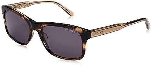 Gant Eyewear GA7195 Gafas, Dark Brown/Other/Green, 57 para Hombre
