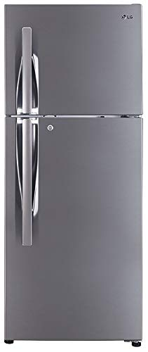 LG 260 L 4 Star (2019) Frost Free Double Door Refrigerator(GL-I292RPZL, Shiny Steel, Smart Inverter...