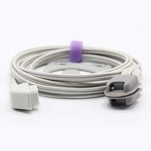 Sino-K compatibele Criticare CSI 1567-10D Spo2 Sensor Volwassene Oor Clip 9,8 ft 6 Pins Connector CE/FDA Goedgekeurd