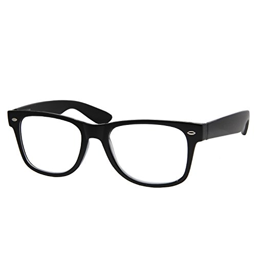 High Magnification Power Readers Reading Glasses 4.00-6.00 Black/6.00
