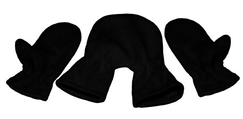 Tamiso Partnerhandschuhe/Pärchenhandschuhe schwarz - Geschenkidee für Weihnachten, Paare, Valentinstag, Verlobung, Hochzeit
