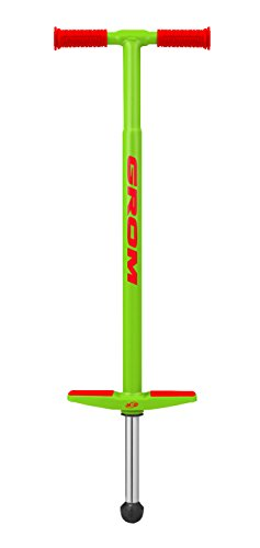 NSG Grom Pogo Stick - 5 to 9 Year Olds, 40-90 Pounds, Green