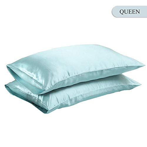 goodshare Pillow Cover Pillowcase Queen/King Silk Satin Smooth Bedding Pillow Case Home Pillowcase Decorative Best Service