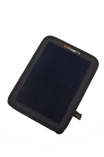 Grape Solar GS-GoCharger-7.5 Monocrystalline Portable Solar Panel with Micro USB Cable, 7.5-watt