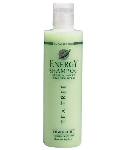 Elkaderm Energy Tea Tree Shampoo, 1er Pack, (1x 250 ml)